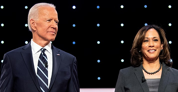 Joe Biden en Kamala Harris, een verademing