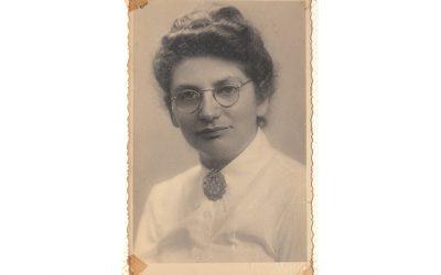 Mijn tante Fie Noach, geboren in de verkeerde tijd.
