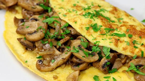 Omelet champignons Extra